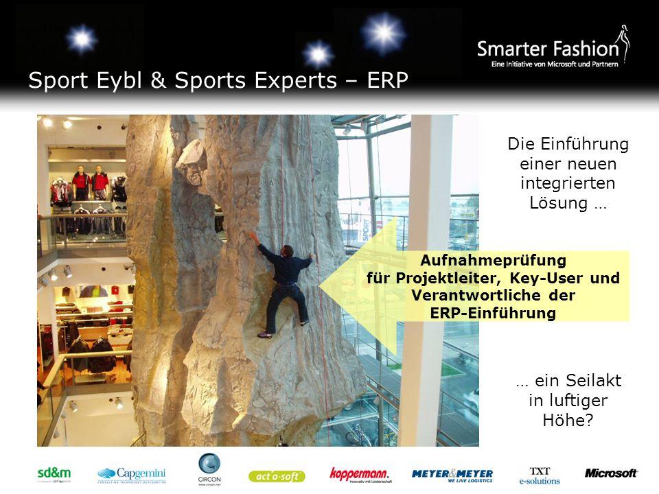 Sport Eybl & Sports Experts – ERP