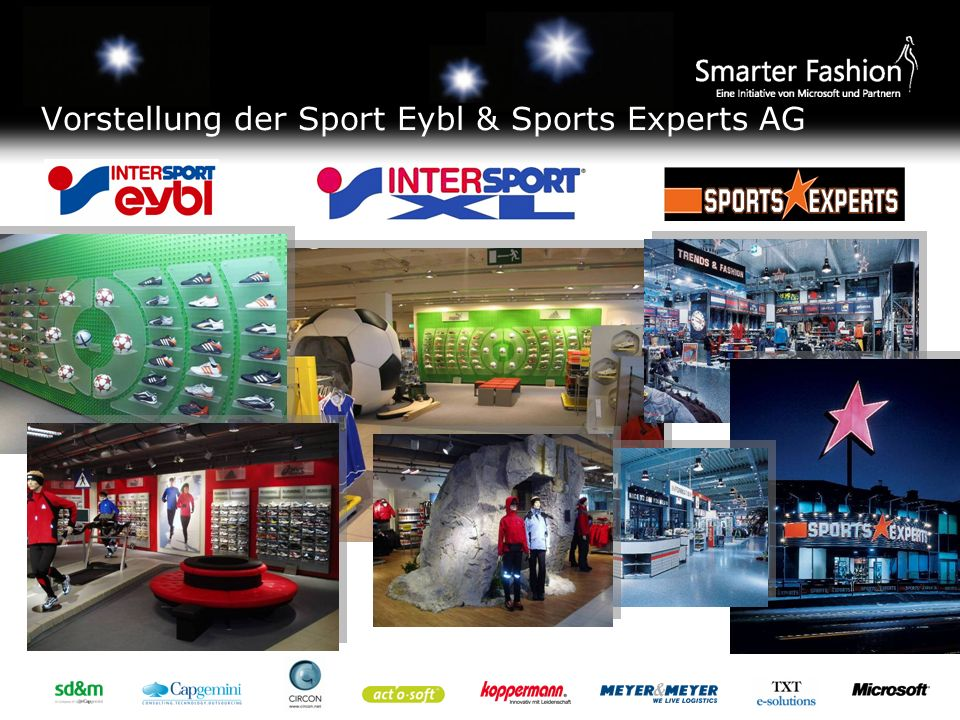 Vorstellung der Sport Eybl & Sports Experts AG