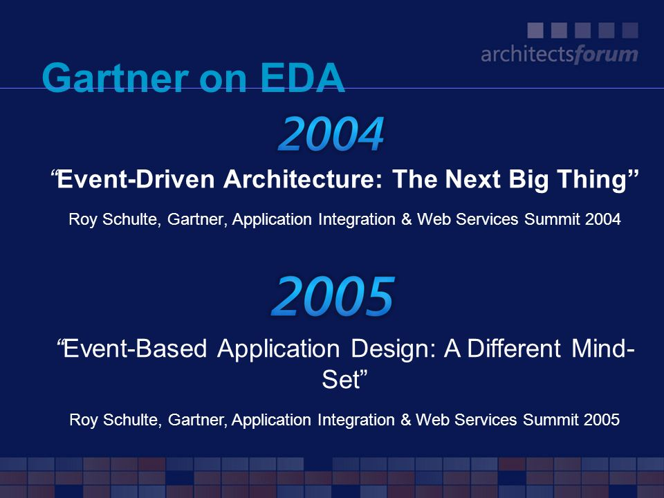 Gartner on EDA Event-Driven Architecture: The Next Big Thing