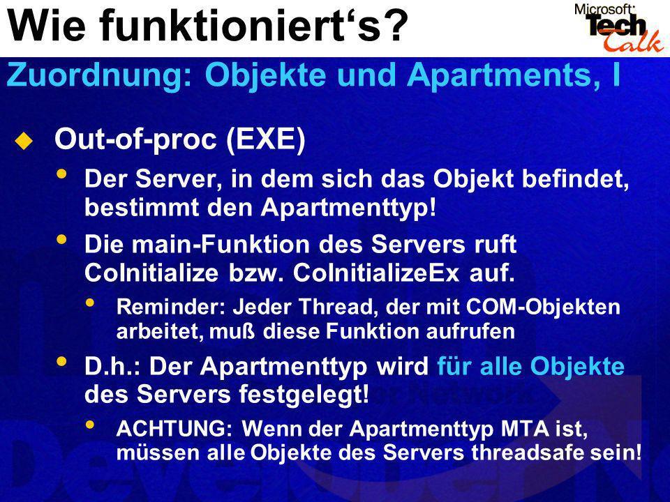 Wie funktioniert's Zuordnung: Objekte und Apartments, I