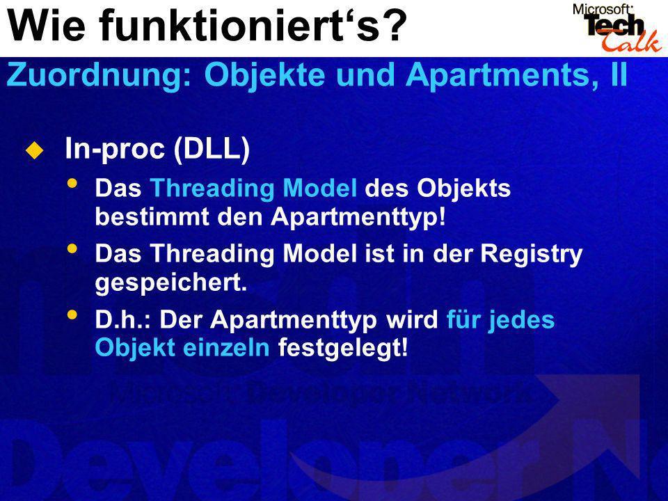 Wie funktioniert's Zuordnung: Objekte und Apartments, II