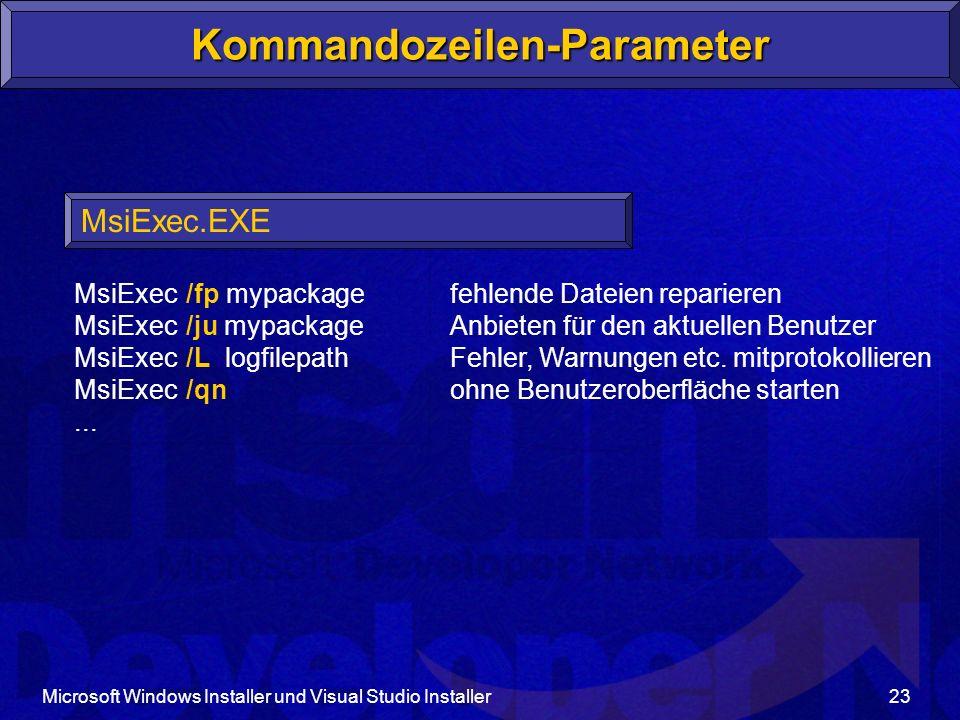 Kommandozeilen-Parameter