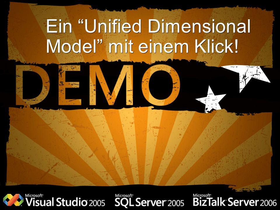 Ein Unified Dimensional Model mit einem Klick!