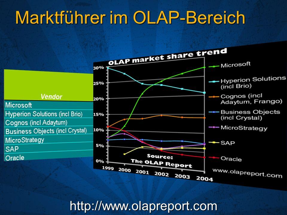 Marktführer im OLAP-Bereich