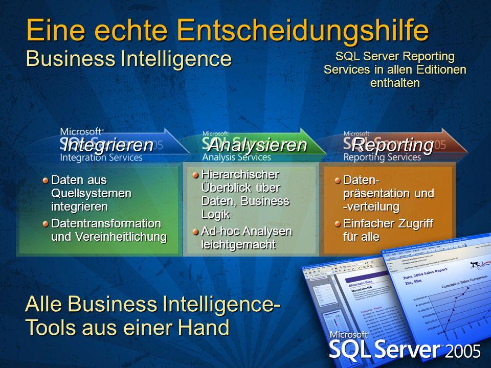 Eine echte Entscheidungshilfe Business Intelligence