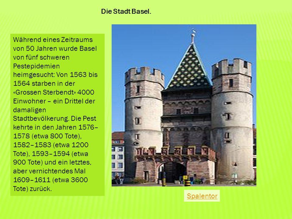 Die Stadt Basel.