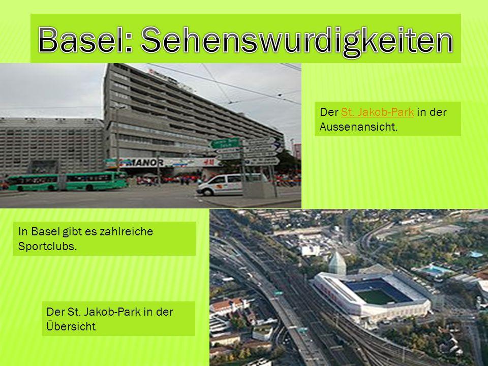 Basel: Sehenswurdigkeiten