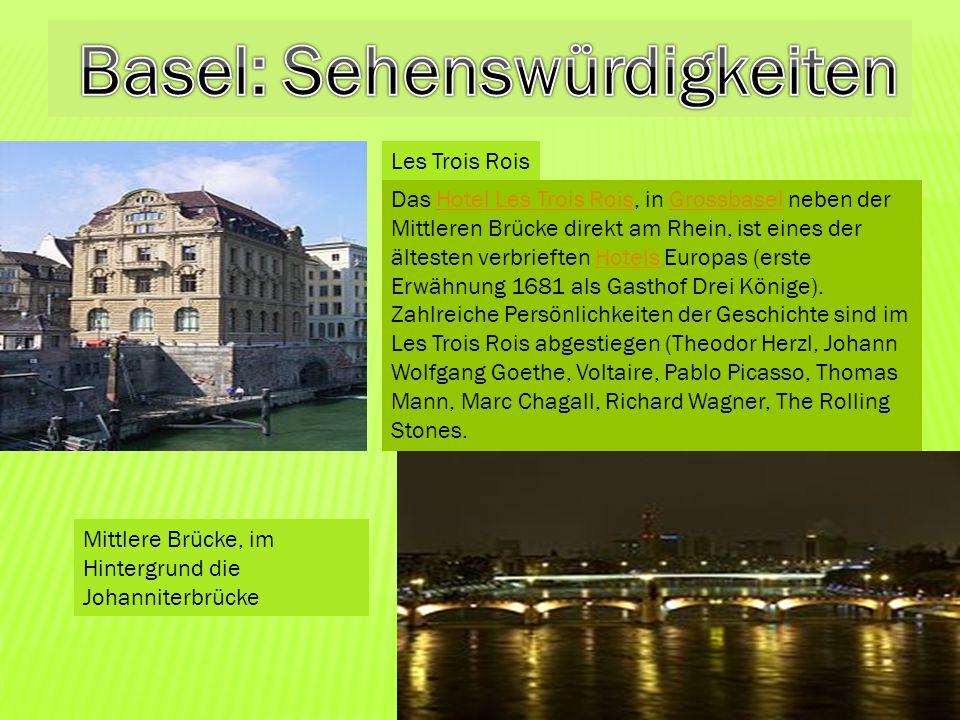 Basel: Sehenswürdigkeiten