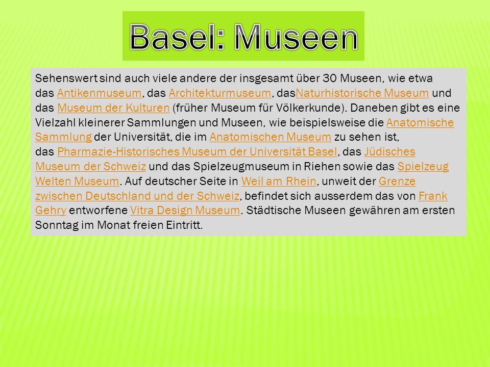 Basel: Museen
