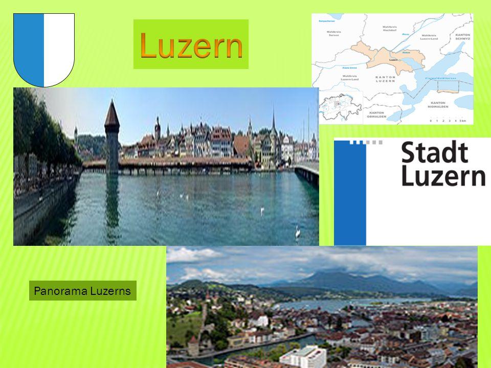 Luzern Panorama Luzerns