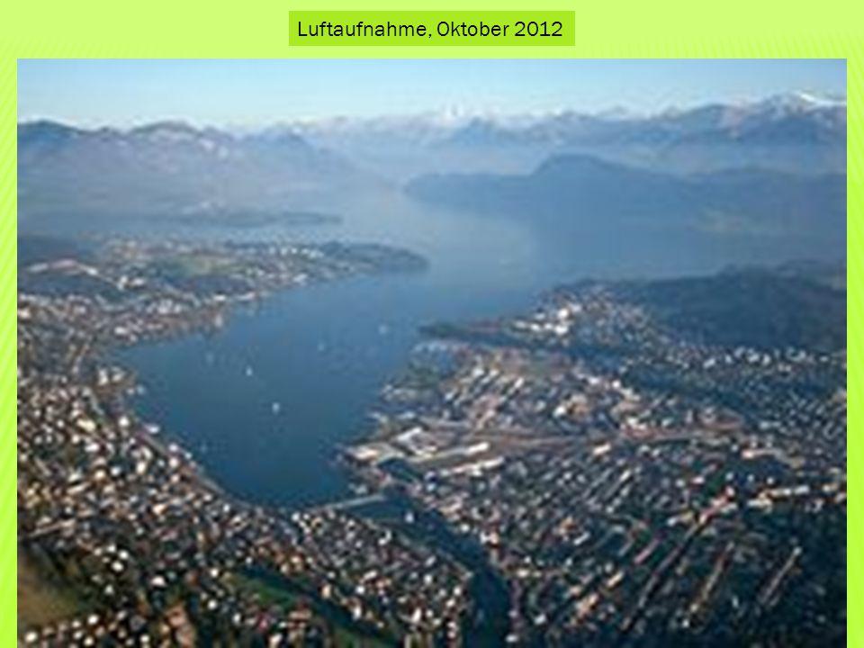 Luftaufnahme, Oktober 2012