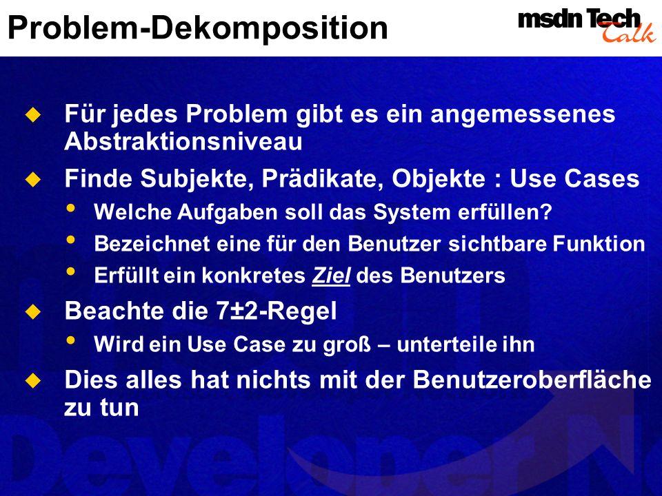 Problem-Dekomposition