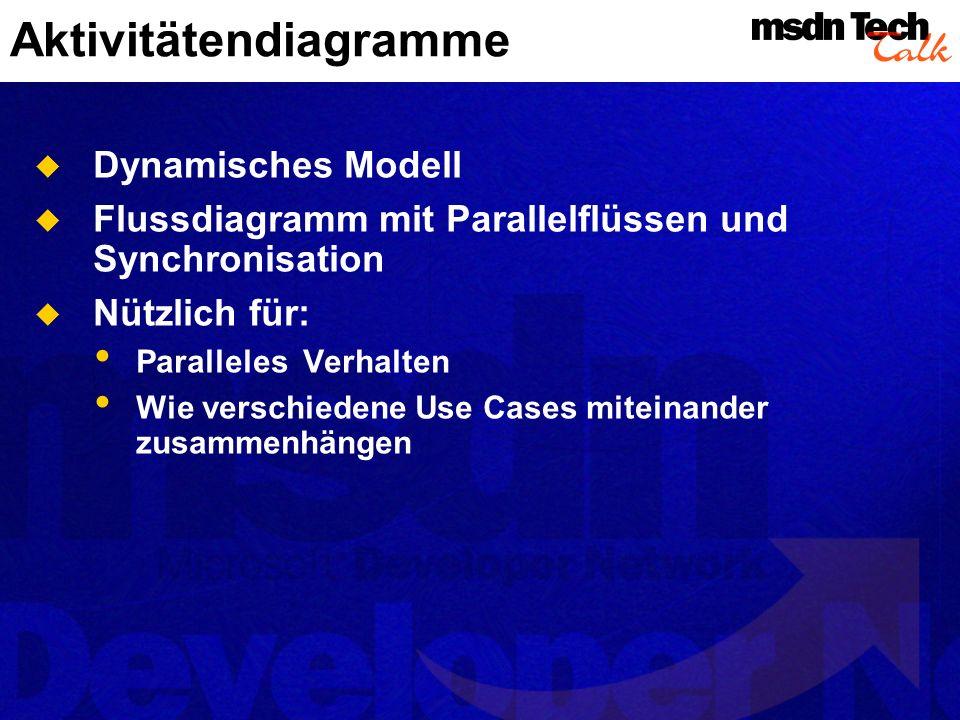 Aktivitätendiagramme