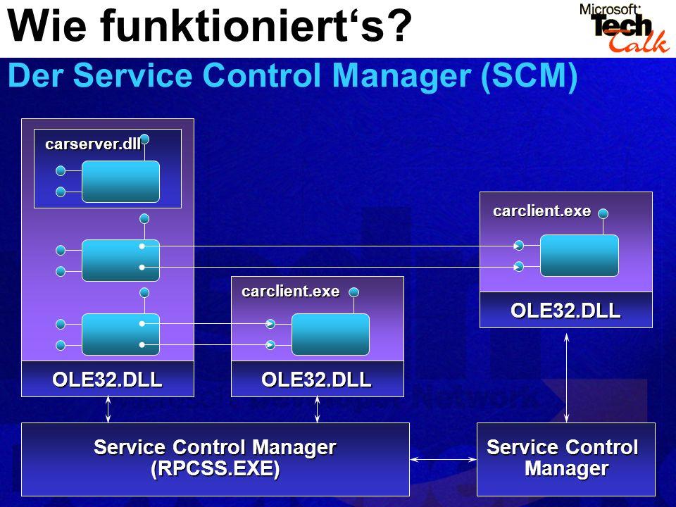 Wie funktioniert's Der Service Control Manager (SCM)