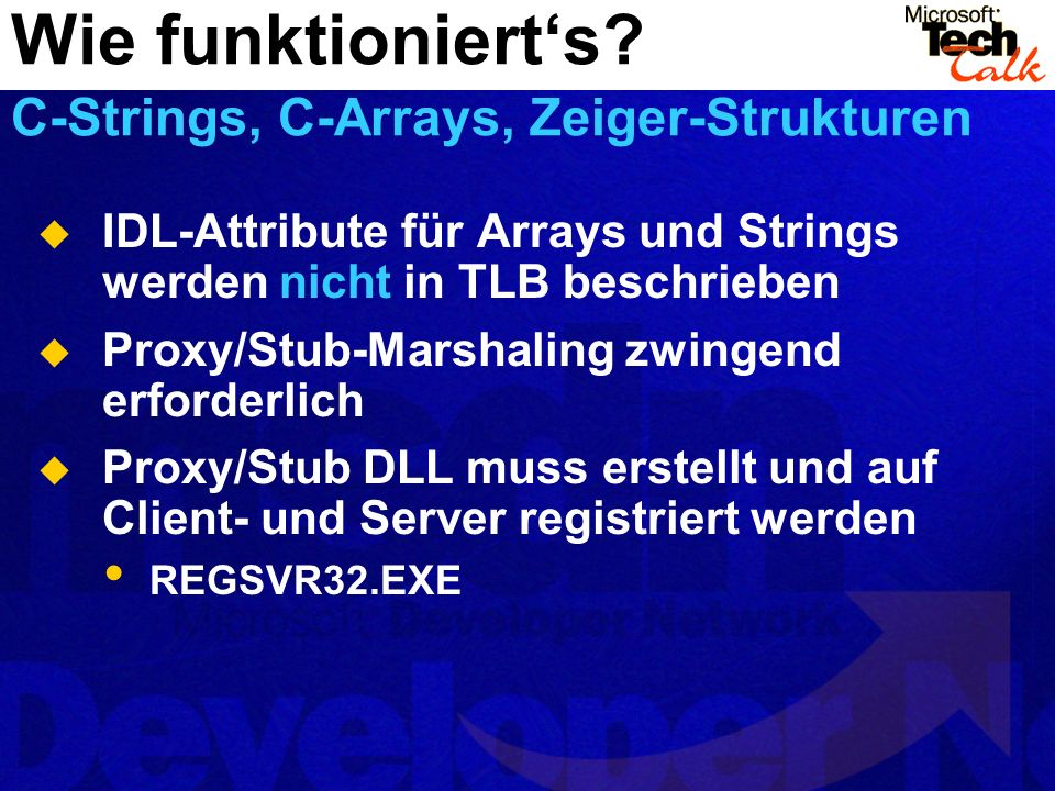 Wie funktioniert's C-Strings, C-Arrays, Zeiger-Strukturen