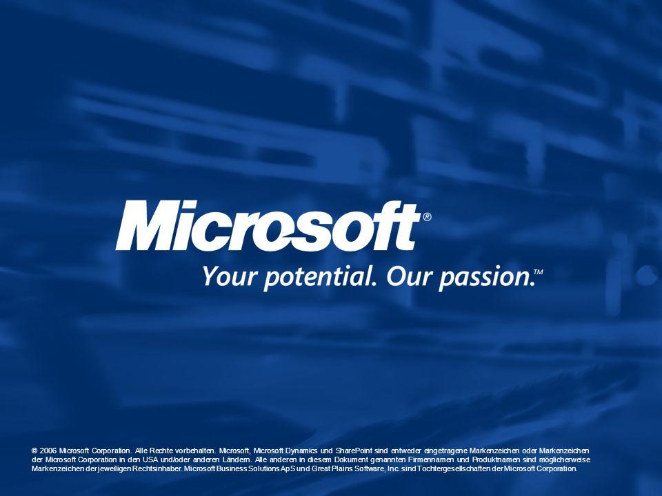 © 2006 Microsoft Corporation. Alle Rechte vorbehalten