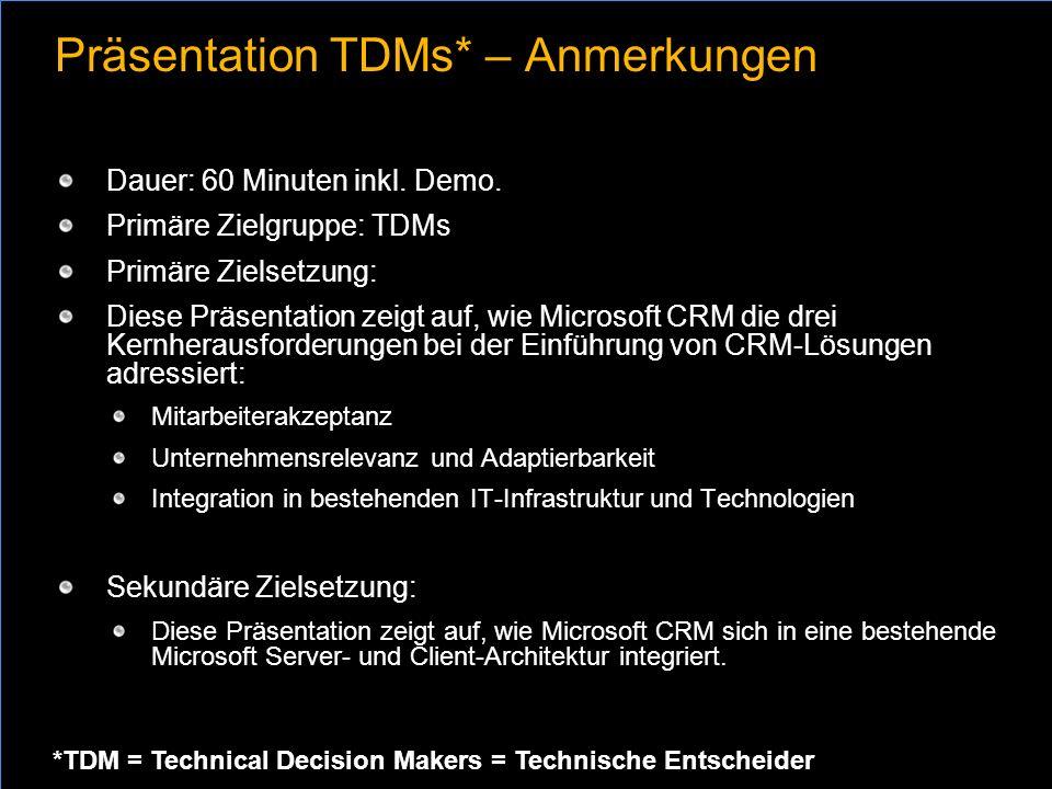 Präsentation TDMs* – Anmerkungen