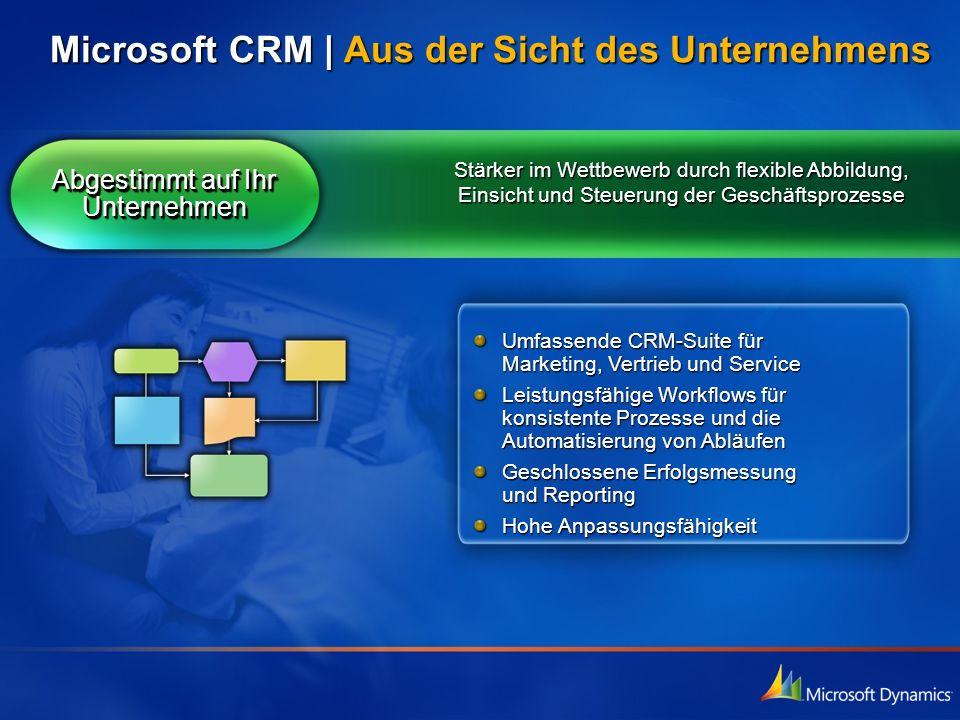 Microsoft CRM | Aus der Sicht des Unternehmens