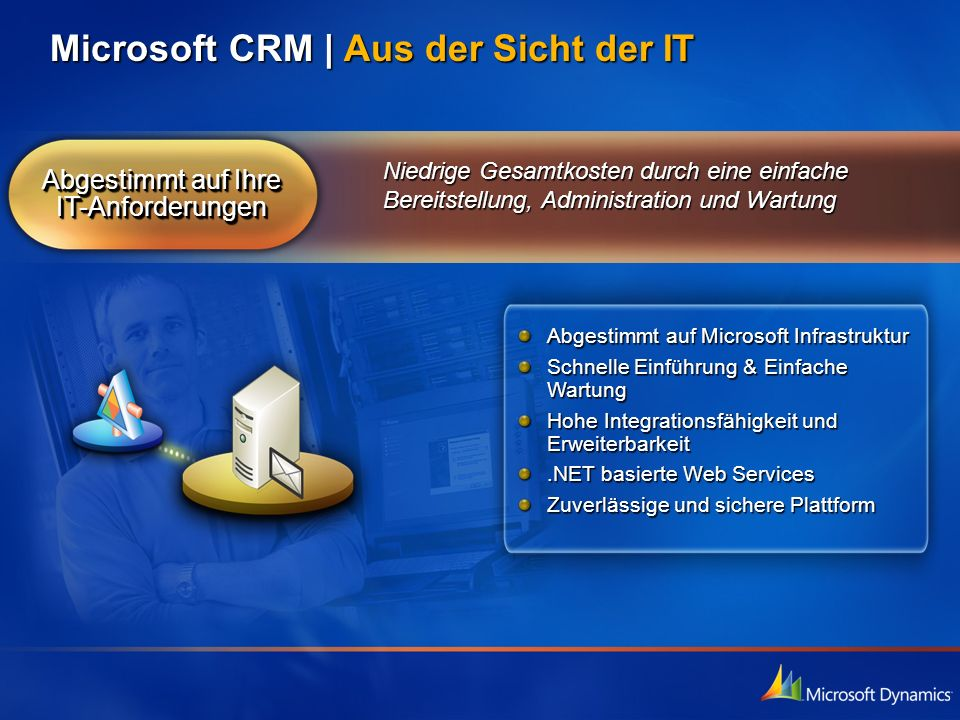Abgestimmt auf Ihre IT-Anforderungen