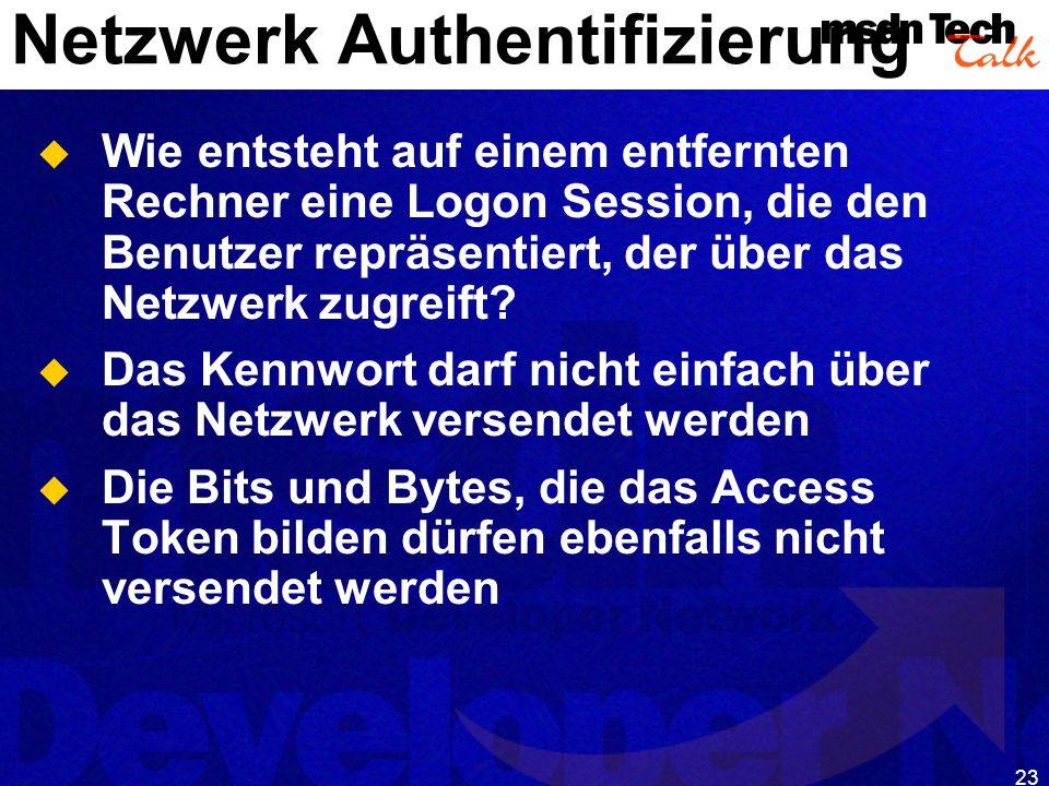 Netzwerk Authentifizierung