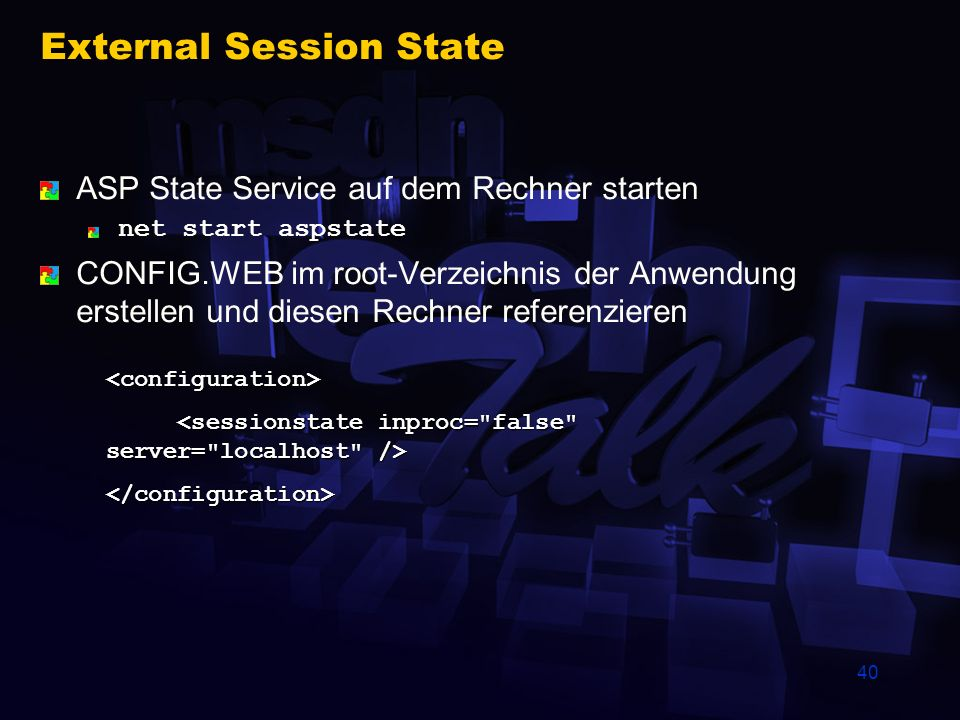 External Session State