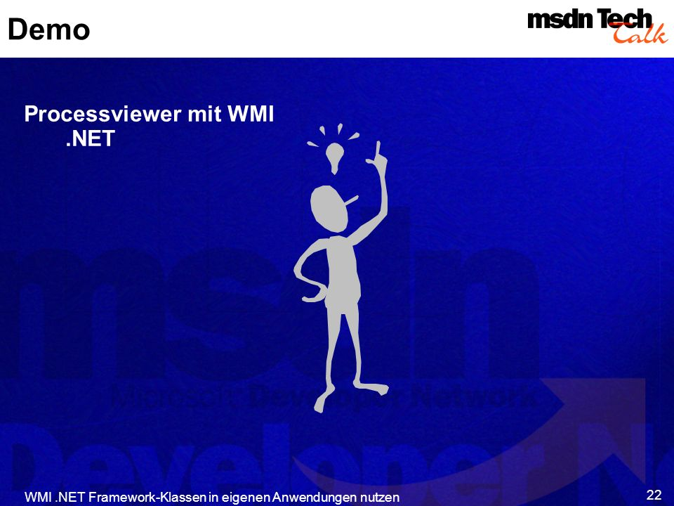 Demo Processviewer mit WMI .NET