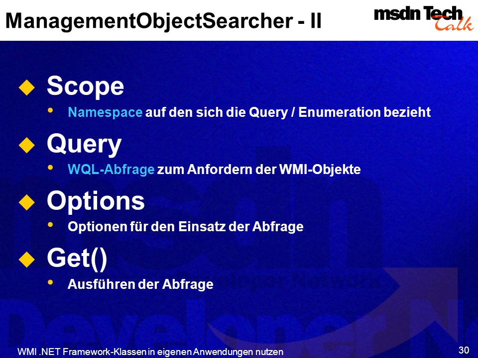 ManagementObjectSearcher - II
