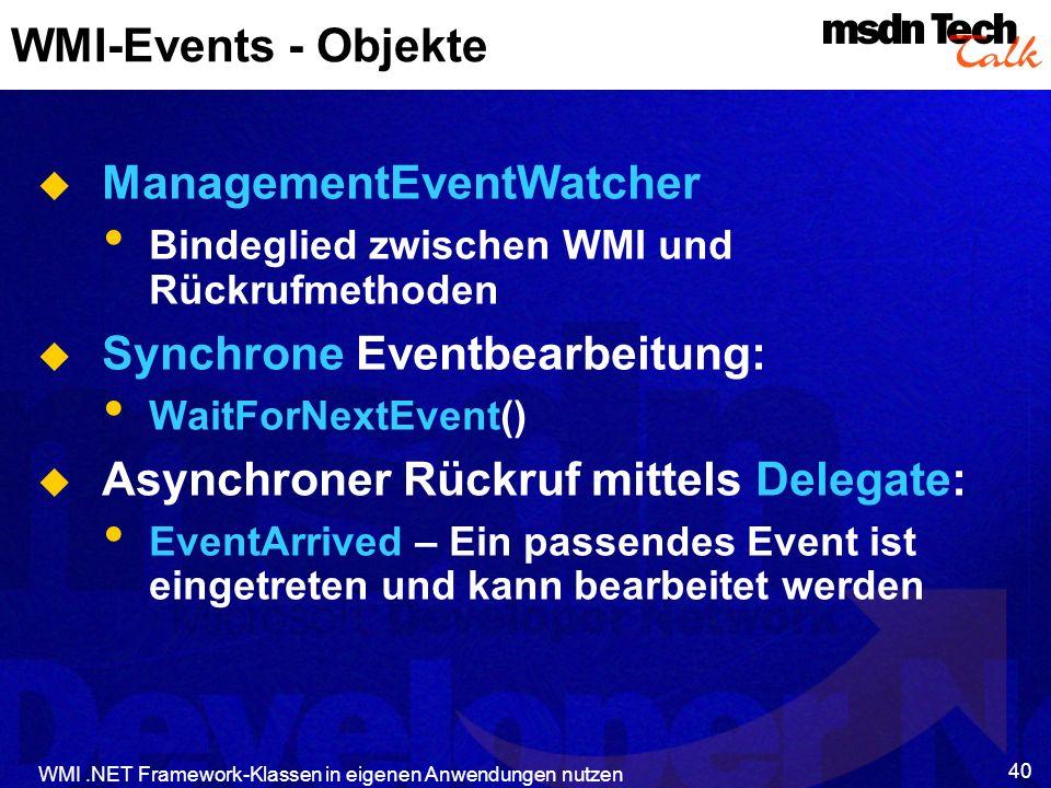 ManagementEventWatcher
