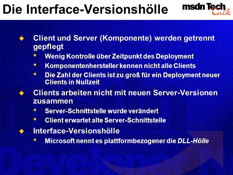 Die Interface-Versionshölle