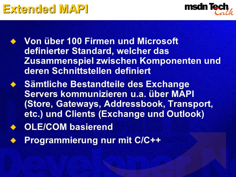 Extended MAPI