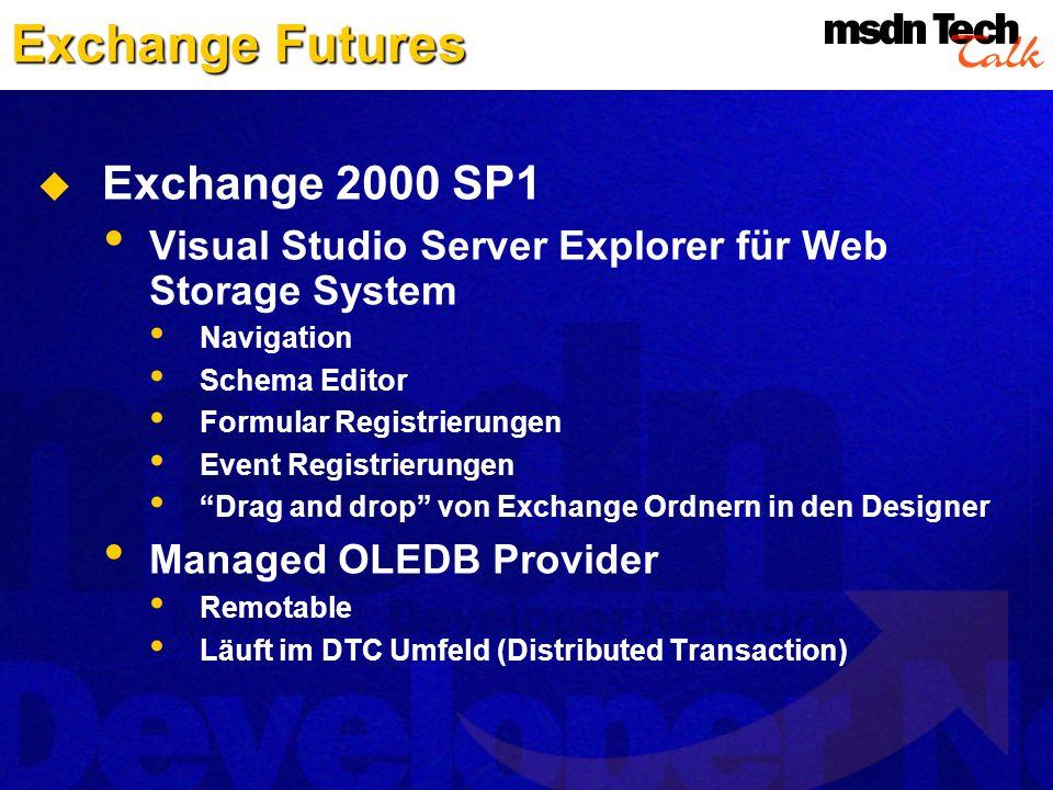 Exchange Futures Exchange 2000 SP1