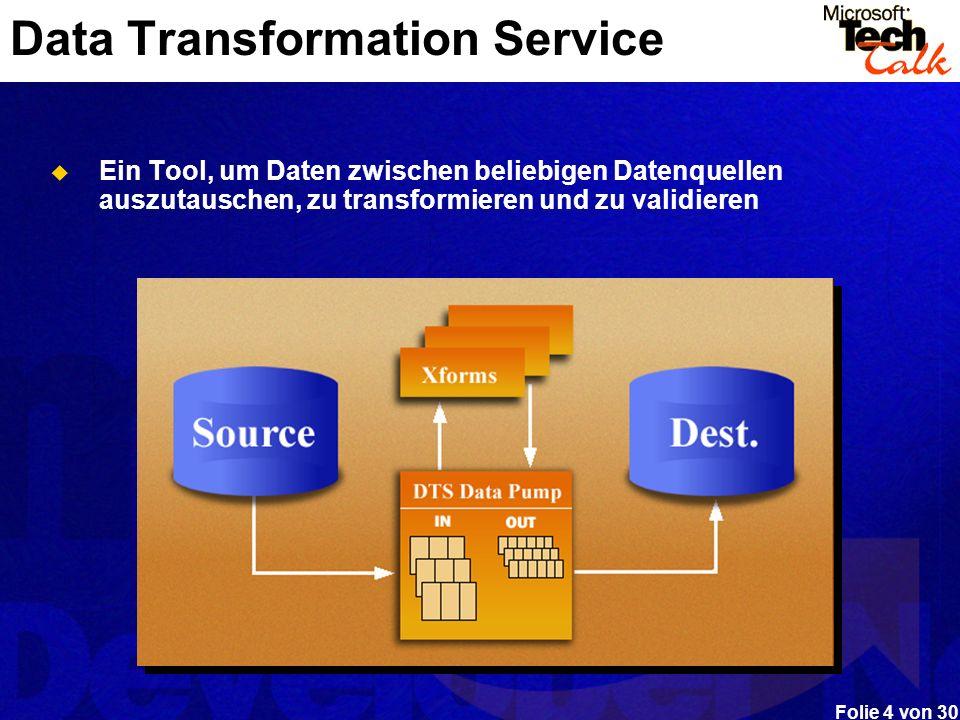 Data Transformation Service
