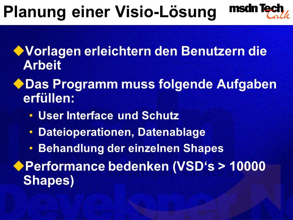 Planung einer Visio-Lösung