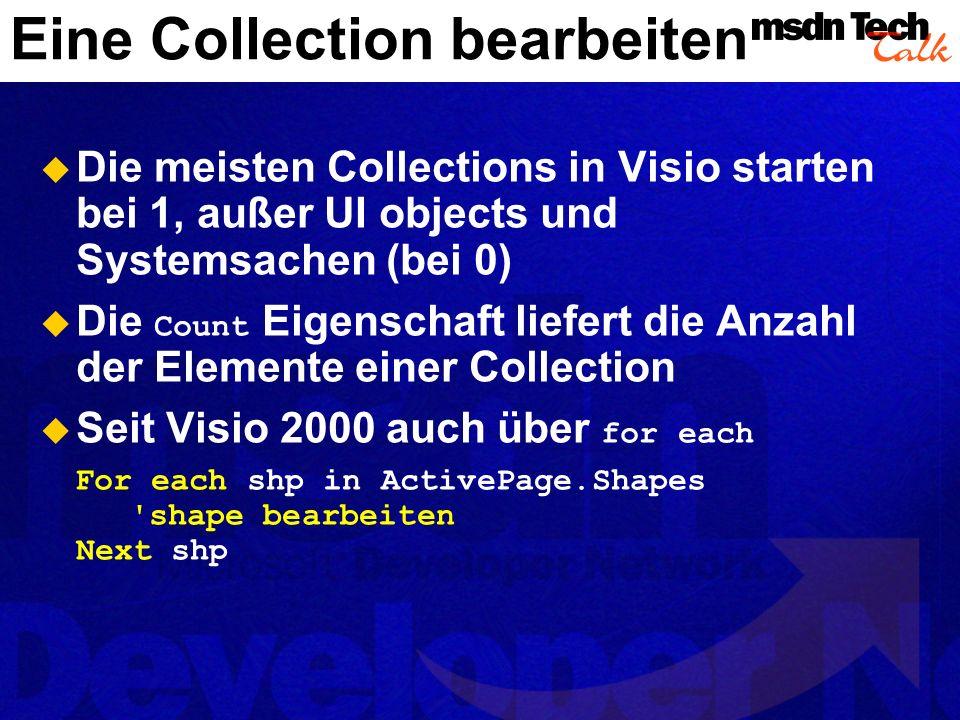 Eine Collection bearbeiten