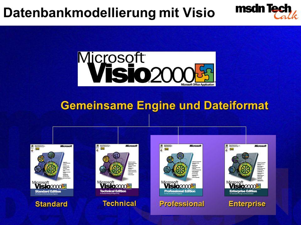 Datenbankmodellierung mit Visio