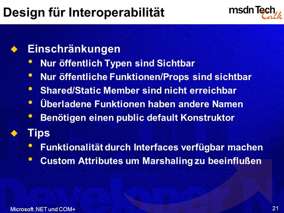 Design für Interoperabilität