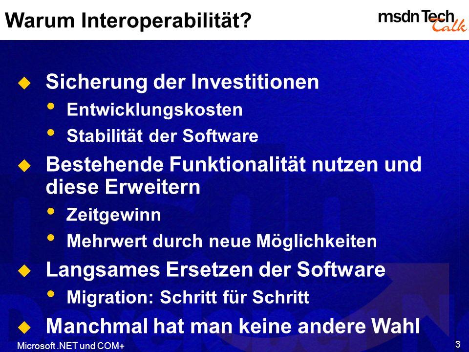 Warum Interoperabilität