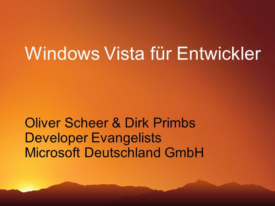 Windows Vista für Entwickler