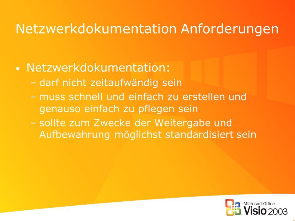 Netzwerkdokumentation Anforderungen