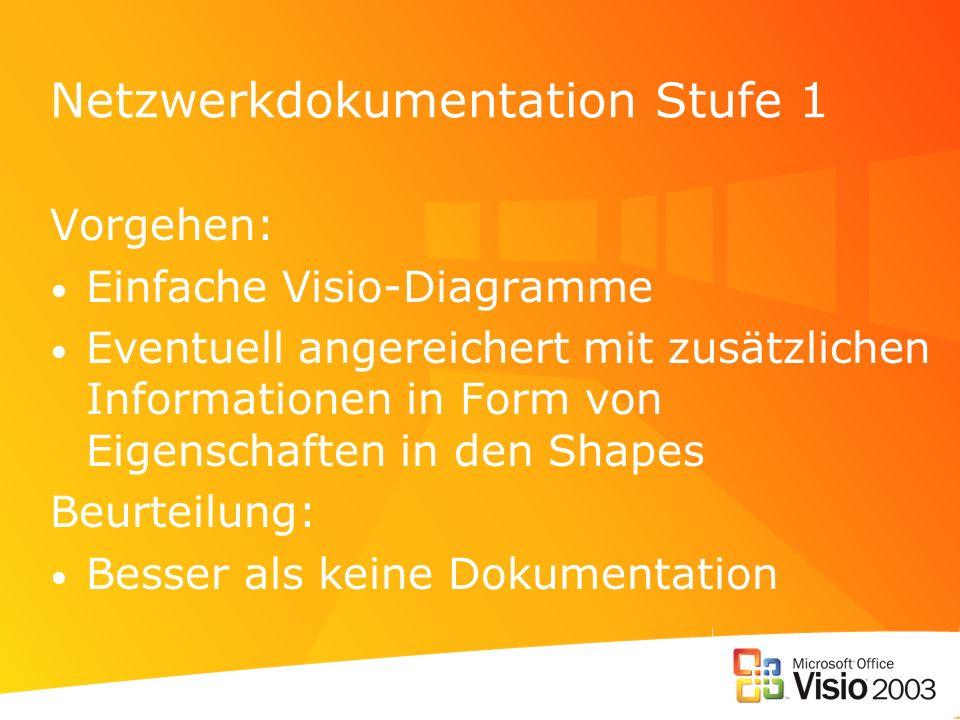 Netzwerkdokumentation Stufe 1