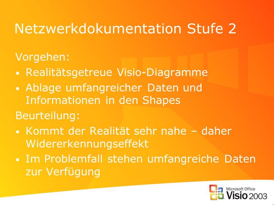 Netzwerkdokumentation Stufe 2