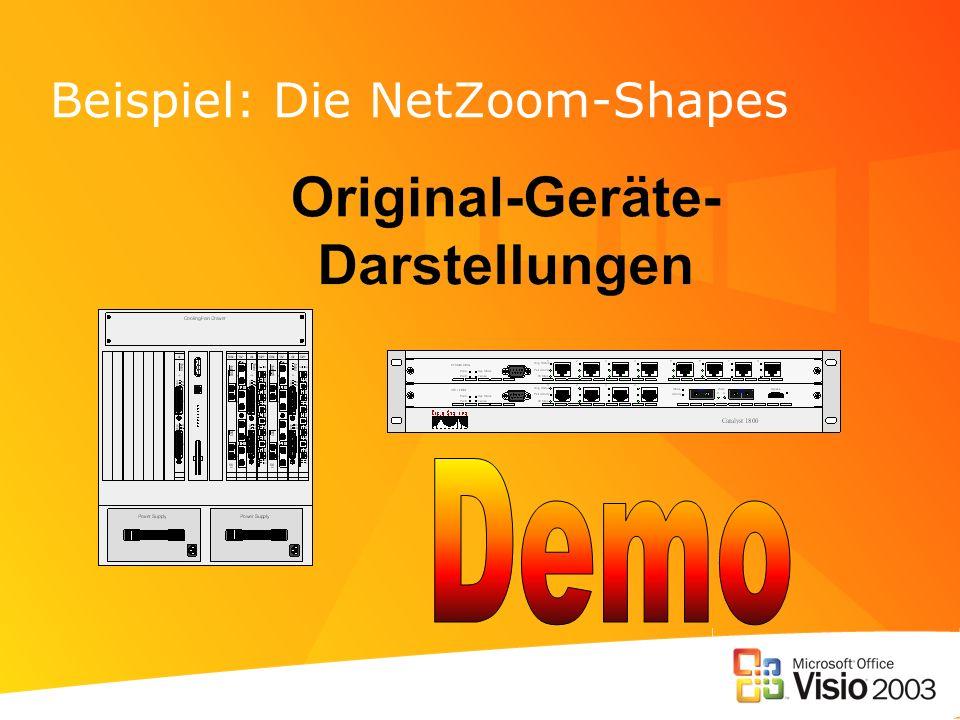 Beispiel: Die NetZoom-Shapes
