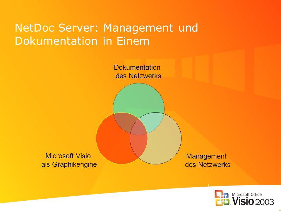 NetDoc Server: Management und Dokumentation in Einem
