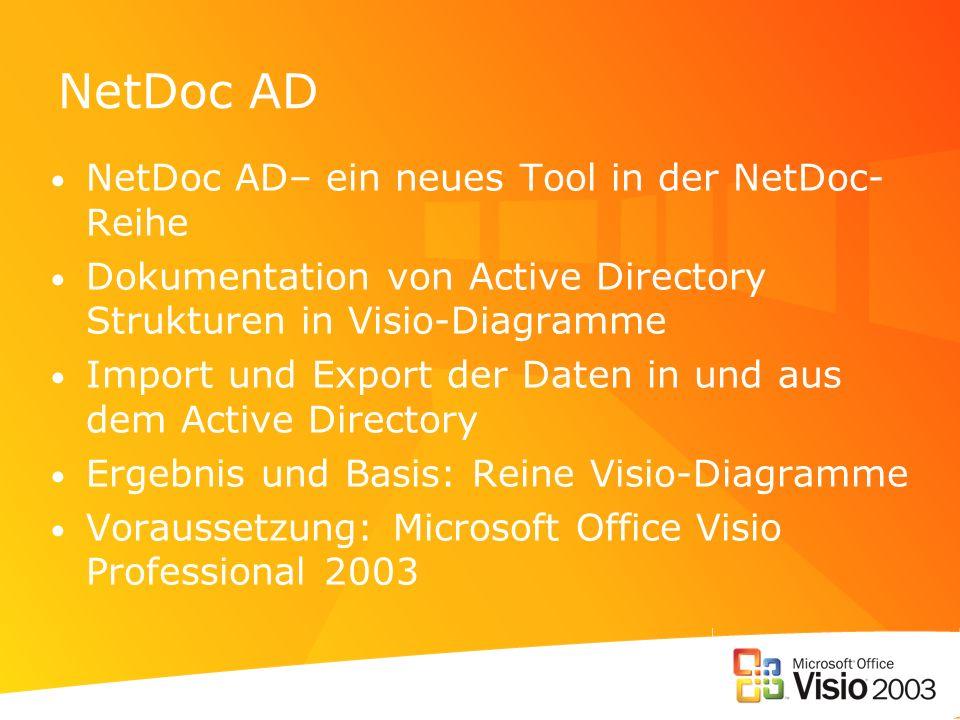 NetDoc AD NetDoc AD– ein neues Tool in der NetDoc-Reihe