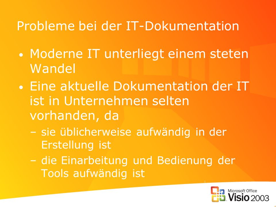 Probleme bei der IT-Dokumentation
