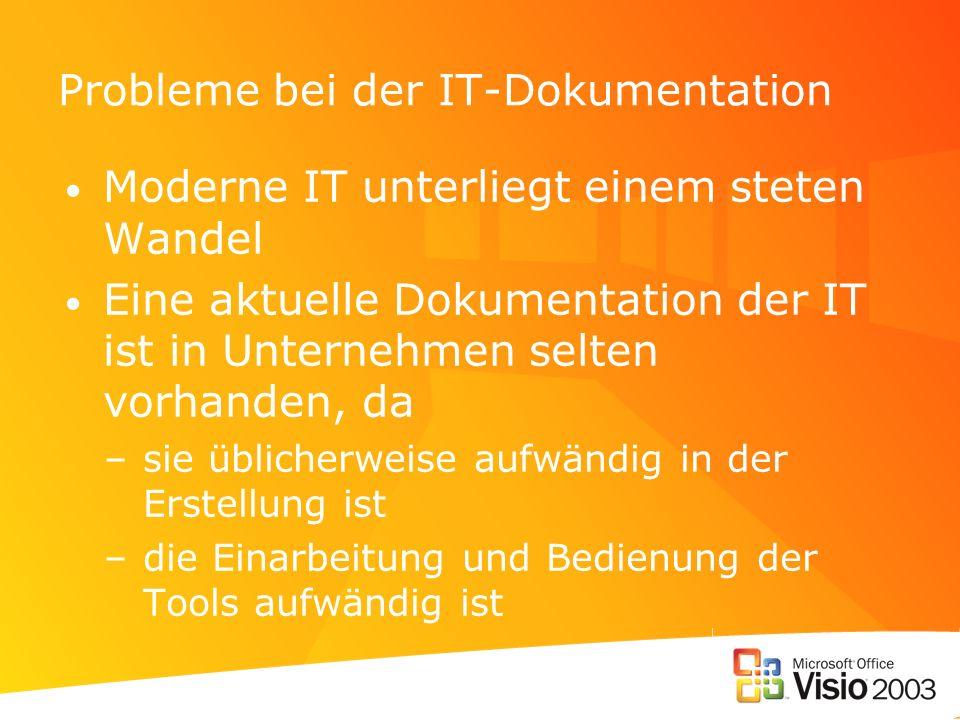 Probleme bei der IT-Dokumentation
