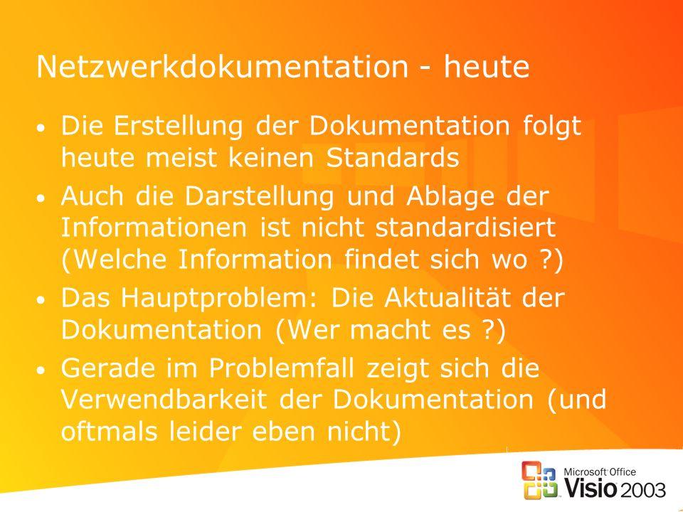 Netzwerkdokumentation - heute