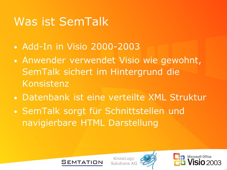 Was ist SemTalk Add-In in Visio 2000-2003