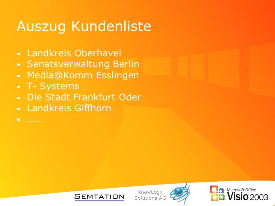 Auszug Kundenliste Landkreis Oberhavel Senatsverwaltung Berlin