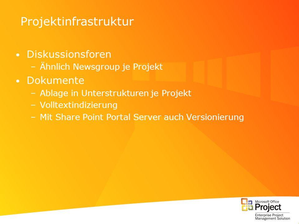Projektinfrastruktur